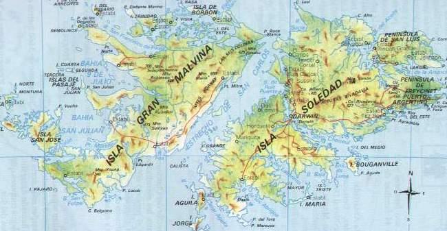 caracteristicas de las islas malvinas