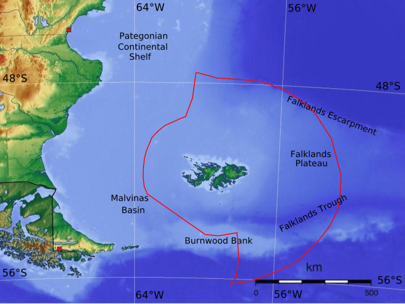 territorio de las islas malvinas