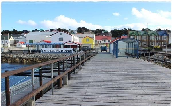 Puerto Darwin el las islas malvinas