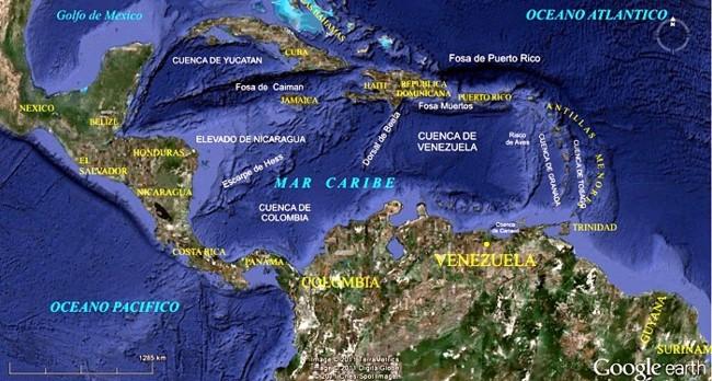 ubicación geográfica de las antillas menores