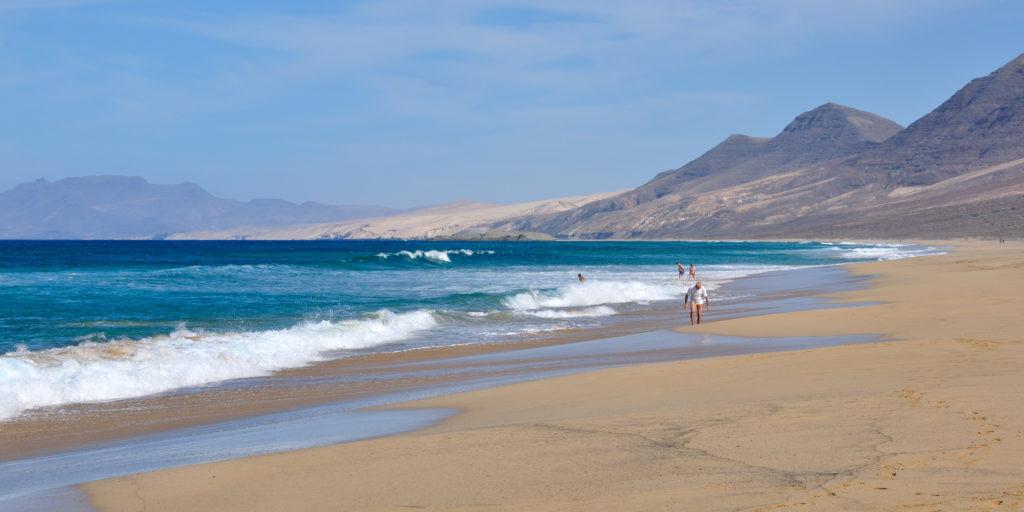 playa del cofete en fuerteventura