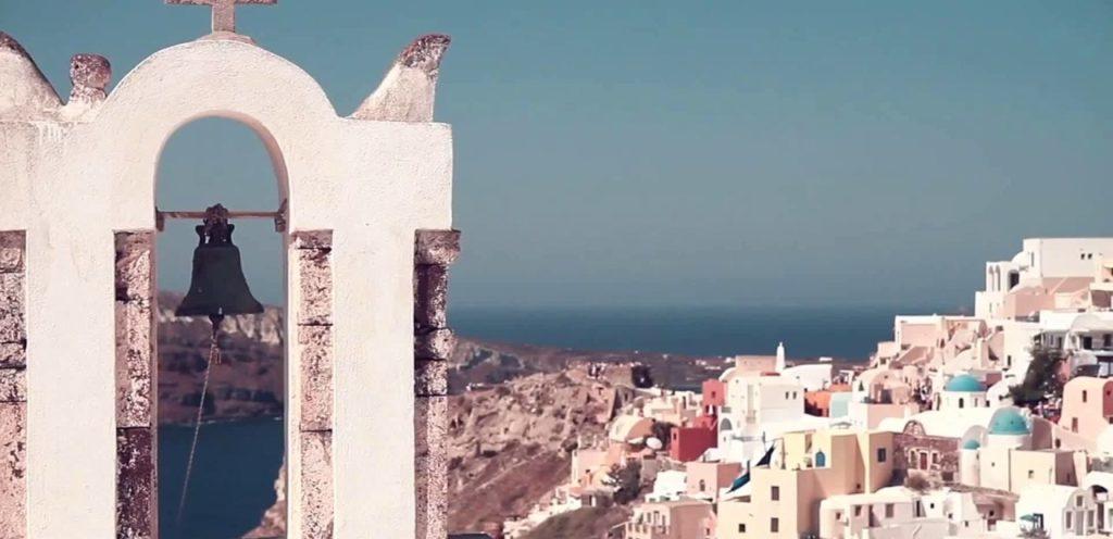 Isla Santorini en la antiguedad