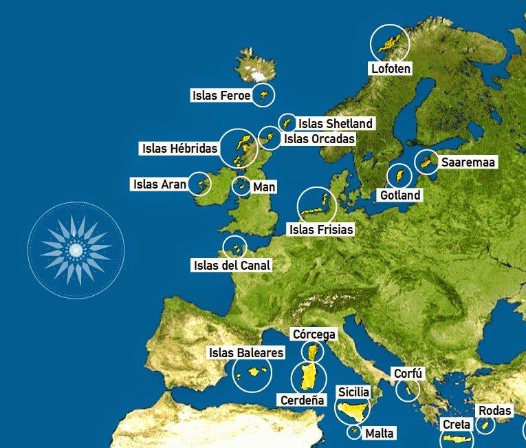 foto de Islas de Europa: lo que no sabes de las principales islas