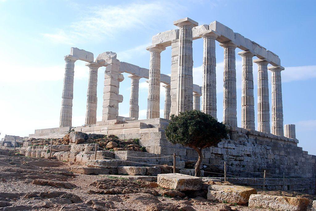 templo de poseidon en grecia