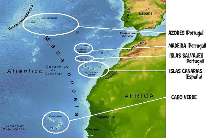 Islas De Portugal Mapa.Descubra Cuales Son Las Islas De Portugal Y Todo Sobre Ellas