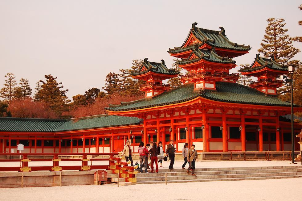 el templo de heian