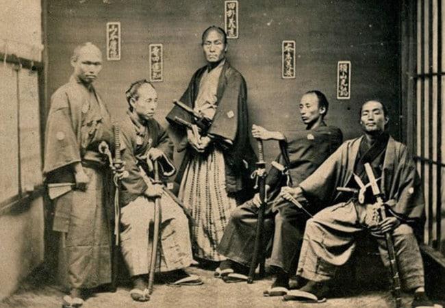 la era del samurai
