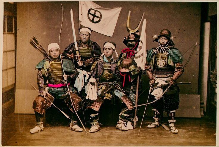 el armamento de los samurai
