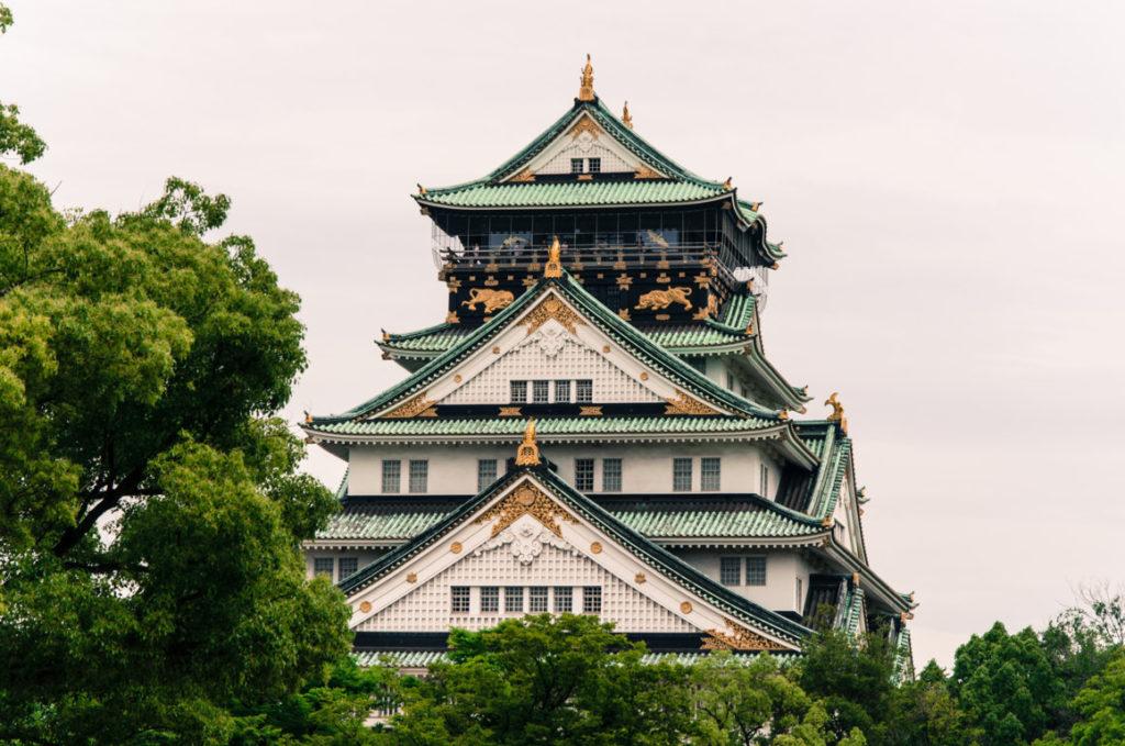 El castillo de Osaka