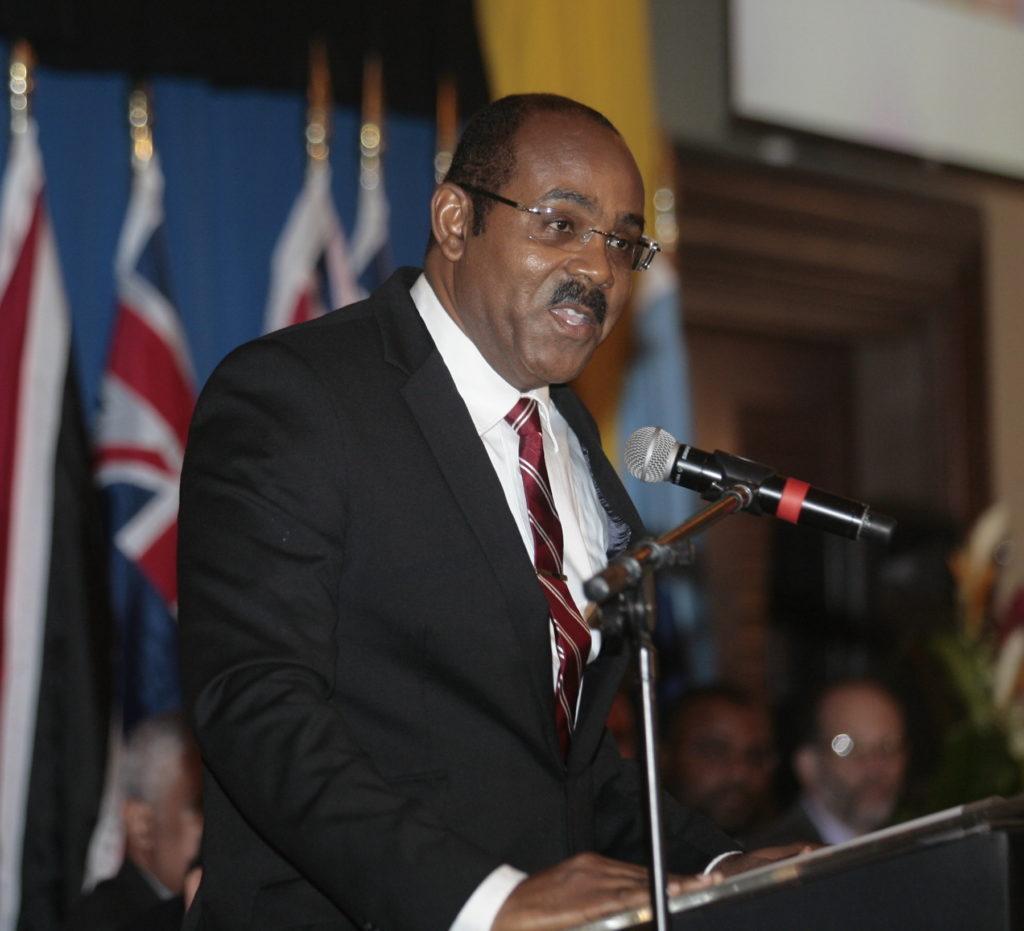 Gaston Browne, actual primer ministro de antigua y barbuda