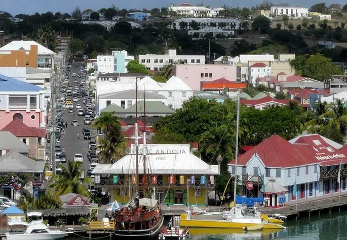 principales ciudades de antigua y barbuda