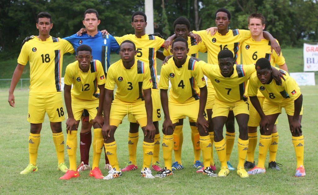 equipo de fútbol de antigua y barbuda