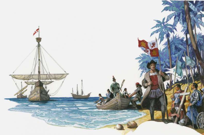 ¿Quién conquisto las Antillas mayores?