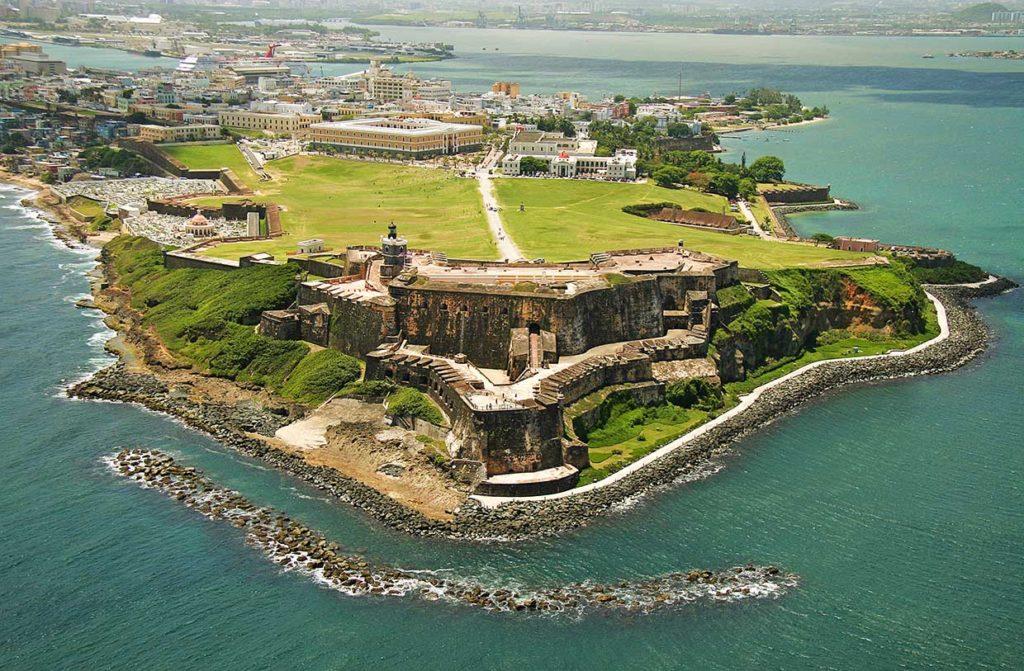 isla de puerto rico en Antillas mayores