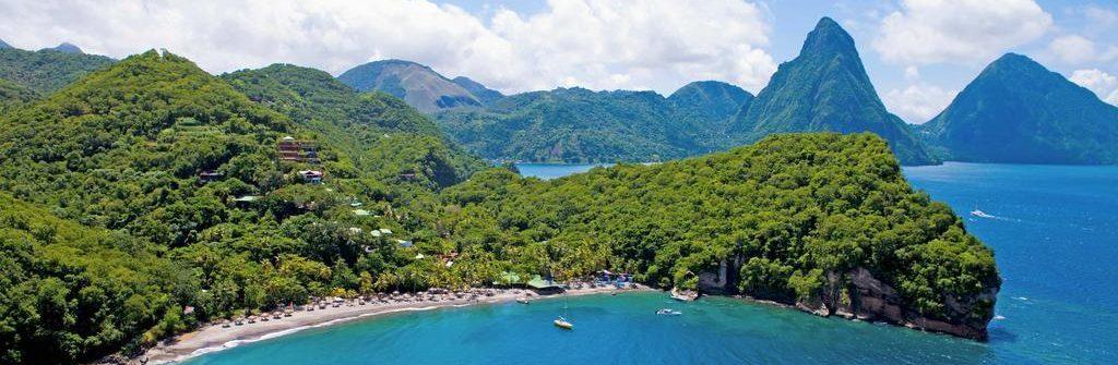 relieve de las Antillas menores