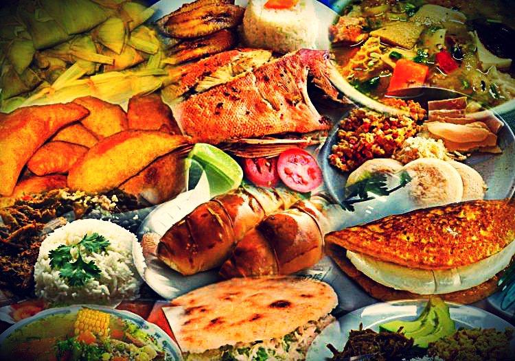 gastronomía de la dependencias federales venezolasnas