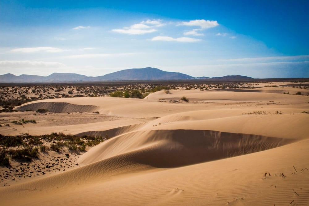 dunas en fuerteventura