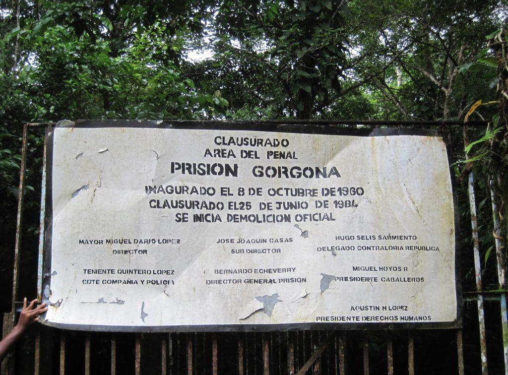 prisión de las Isla Gorgona