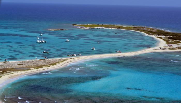 panorama de la isla la tortuga