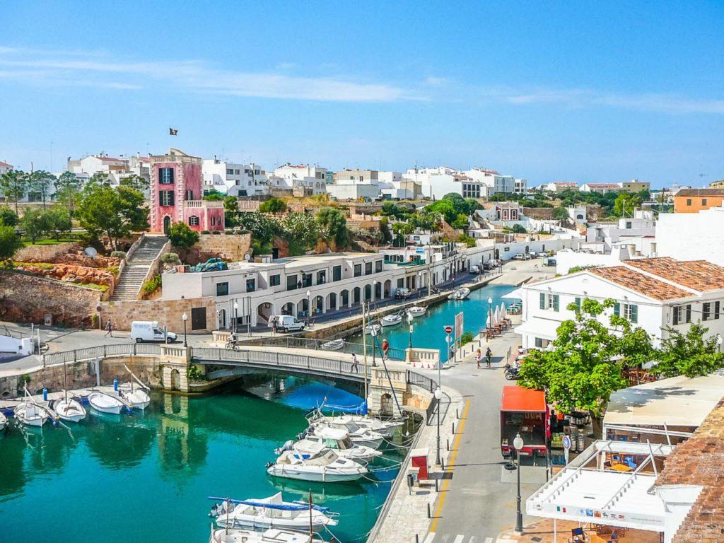 ciudad de menorca