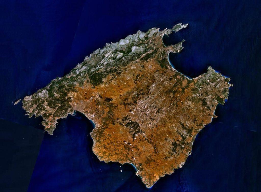 Geografía de islas baleares