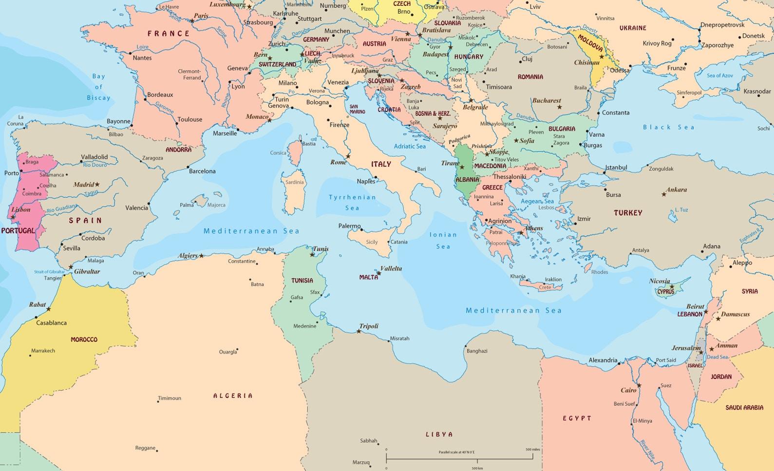 Islas del Mediterraneo