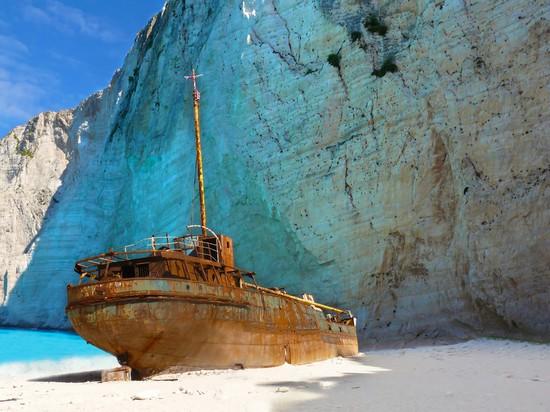 el Panagiotis, isla del naufragio