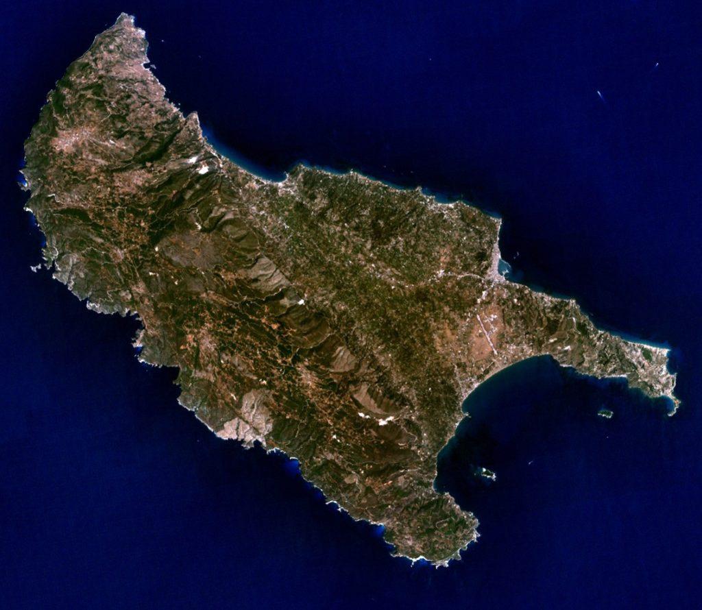 ubicación geográfica de la isla de zante