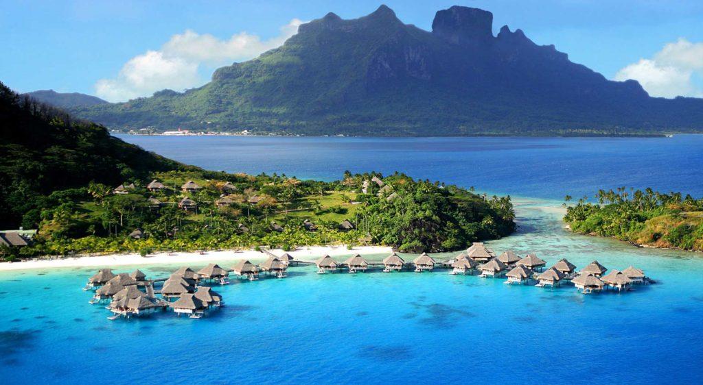 geografía de Bora Bora