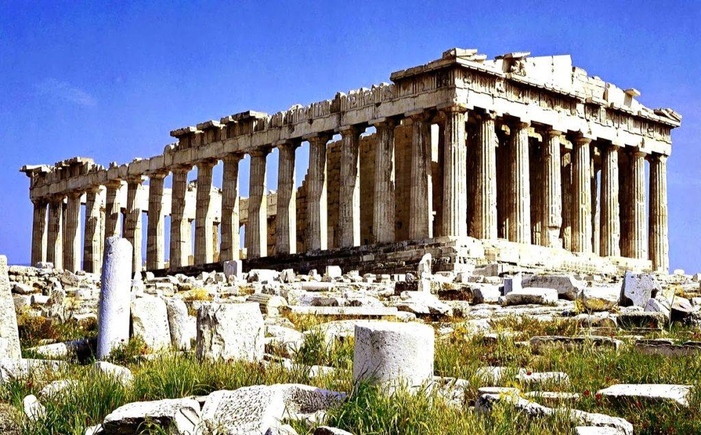 Partenón de grecia