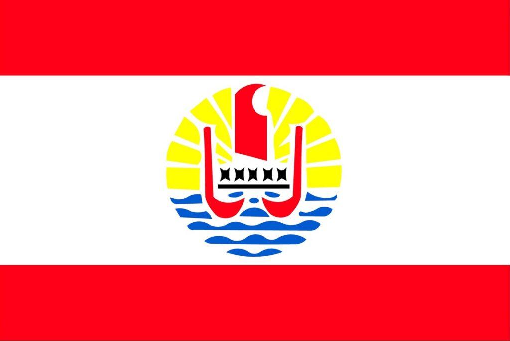 Bandera de Tahití