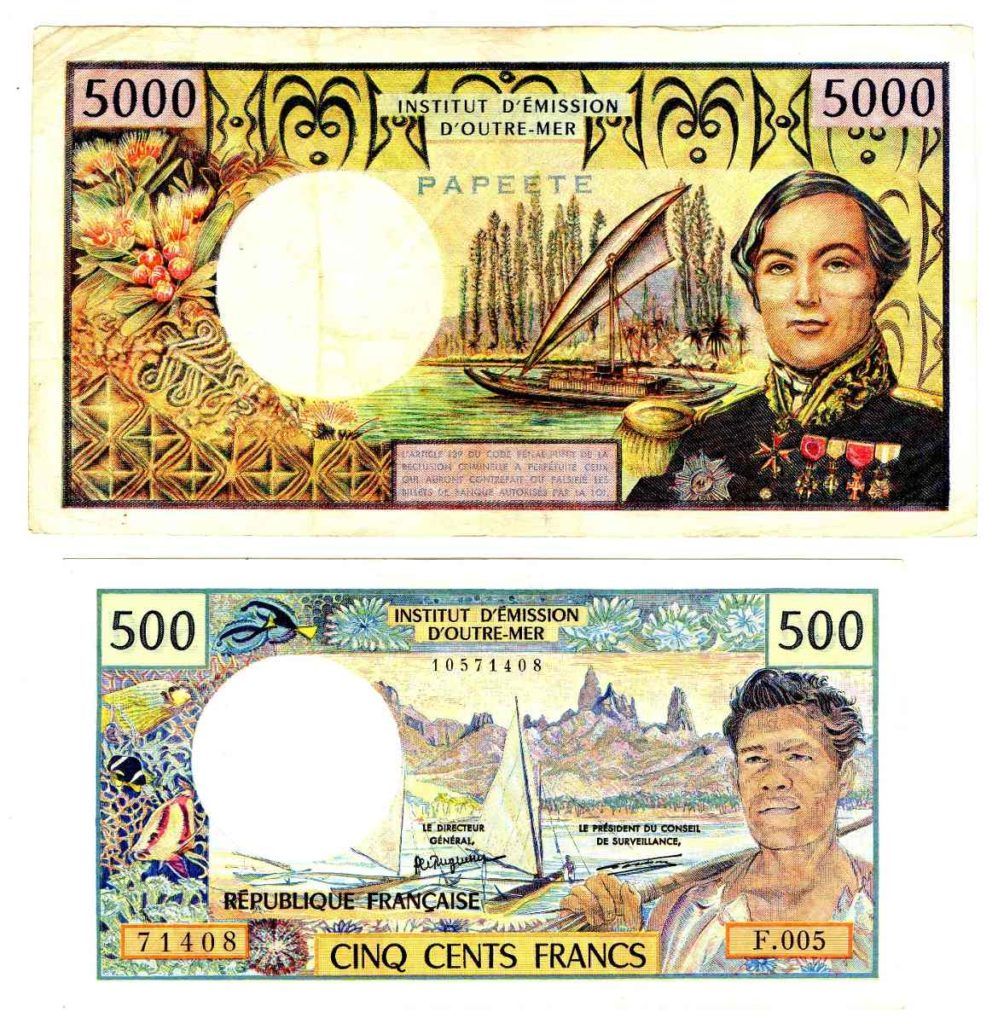 moneda oficial de tahiti