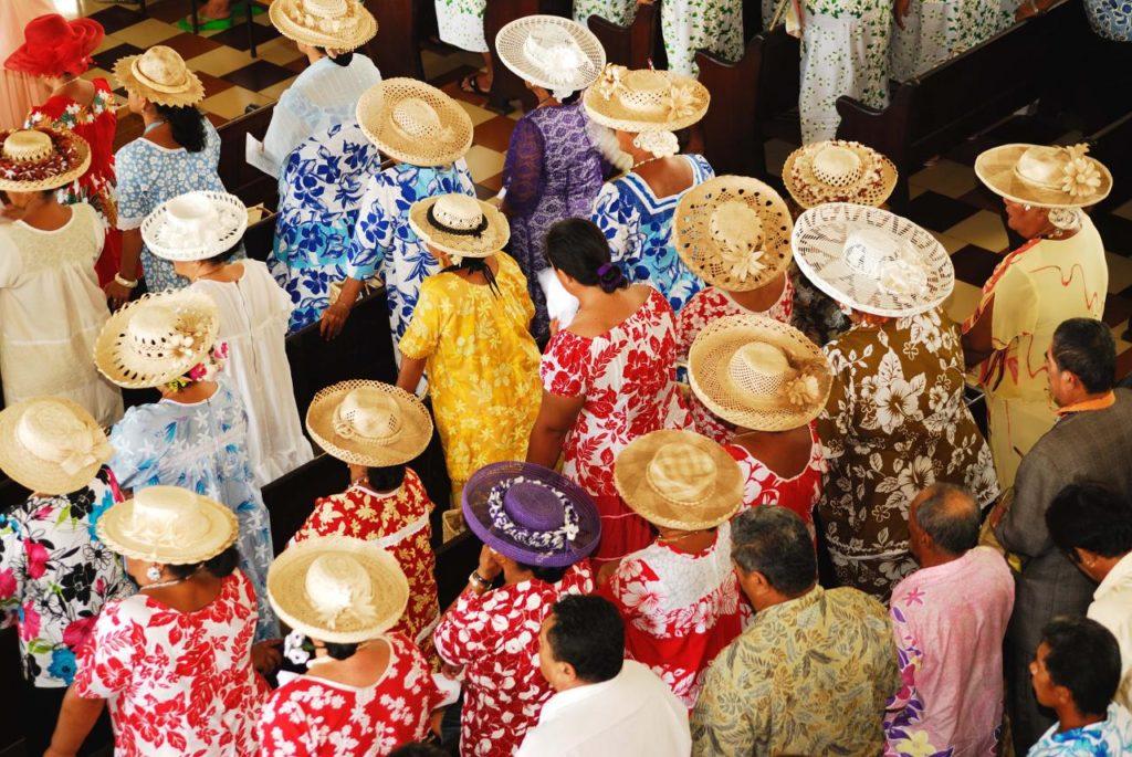 habitantes de tahiti