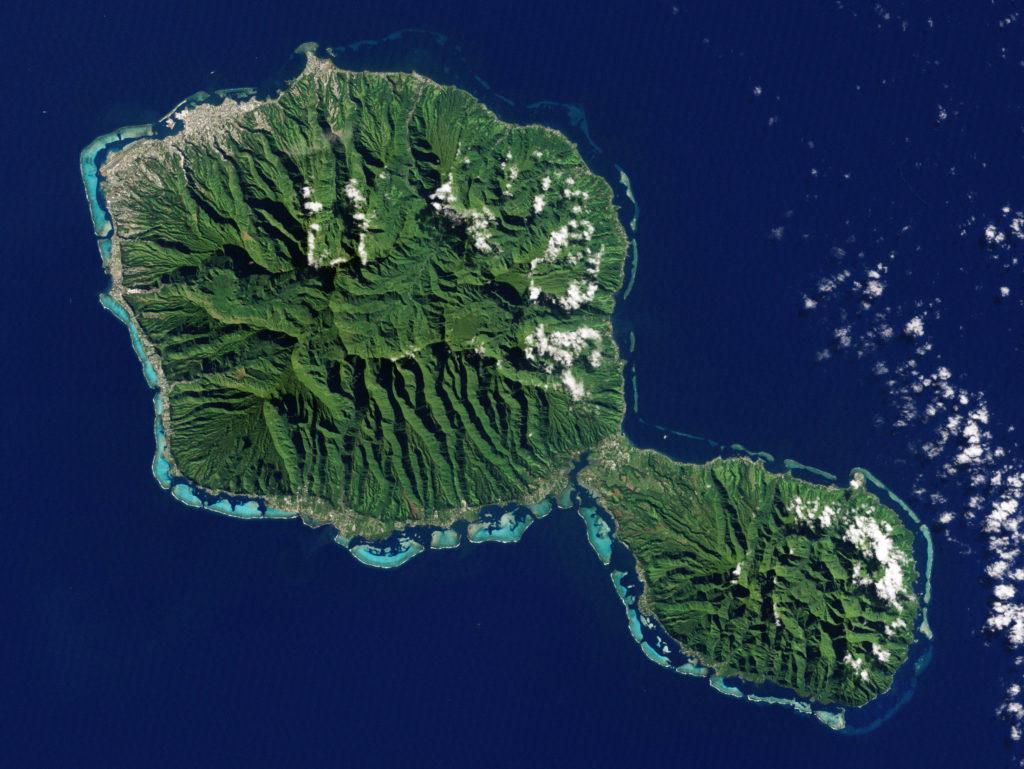 ubicación geográfica de tahiti