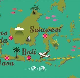 Conozca cuales son las principales islas de Indonesia y todo sobre ellas