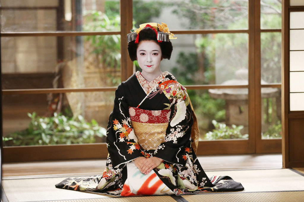 características de una geisha