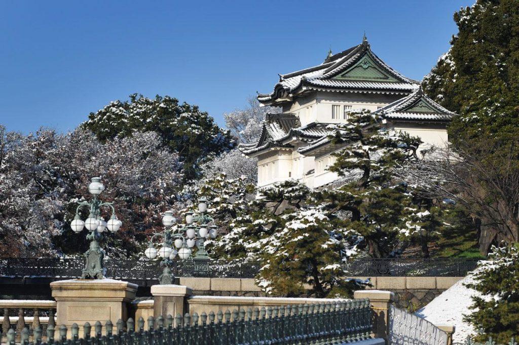 El palacio imperial de Tokio