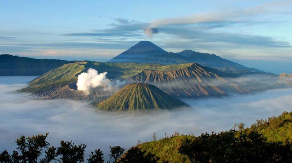 volcanes de japon