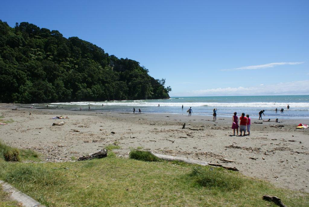 playa ohope nueva zelanda