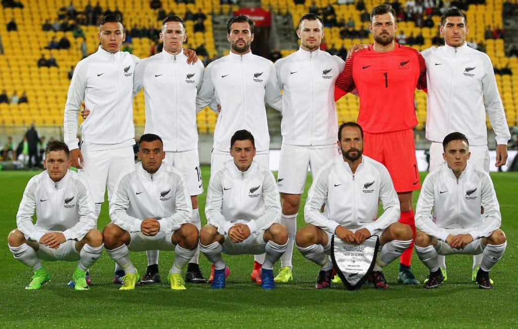 All Whites / seleccion de fútbol de nueva zelanda